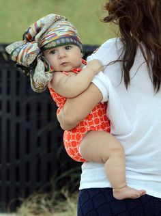 Baby Penelope at the Beach in Miami on November 26, 2012