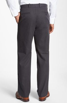 John W. Nordstrom® Mélange Supima® Cotton Pants
