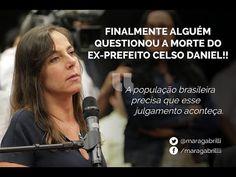 Mara Gabrilli questiona Gilberto Carvalho sobre o caso Celso Daniel MUITO BOM, EXCELENTE SENHORA