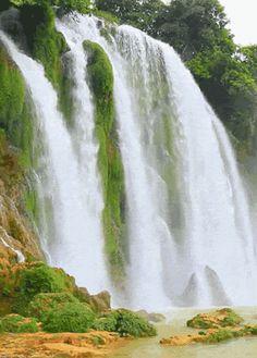 25 Imágenes Animadas de Preciosas Cascadas - 1000 Gifs
