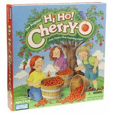 The Original Hi Ho! Cherry-O is a childs first counting game. The game that makes counting as easy as 1 2 3! For over 30 years Hi Ho! Cherry-O has delighted children and parents with its simple-yet-fun introduction to counting. Children try to be first to pick their trees clean filling their buckets with 123 or 4 cherries. Just watch out for the dog the bird and the spilled bucket! Its Hi Ho! Cherry-O... your childs first counting game. The game includes Hi Ho! Cherry-O gameboard 4 Cherry…