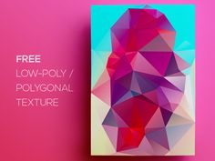 Free Polygonal / Low Poly Background Texture #119 by Rounded Hexagon