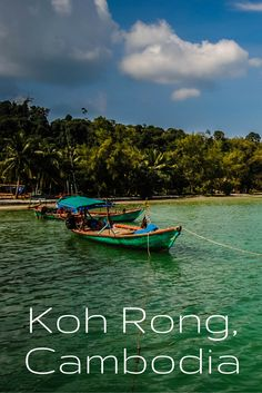 A review of SCUBA diving off the coast of Koh Rong island with Sihanoukville-based Dive Shop Cambodia. If you are a diver heading to Southeast Asia, you won't want to miss this.