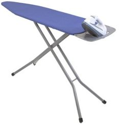Heavy Duty mesh top ironing board for improved steam flow and stability. Includes a removable iron rest/shirt hanger which in f. Small Laundry Rooms, Laundry Room Storage, Laundry Room Design, Laundry In Bathroom, Laundry Closet, Online Laundry, Drying Rack Laundry, Drying Racks, Iron Steamer