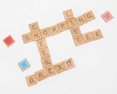 Board-less Scrabble In The Kitchen!