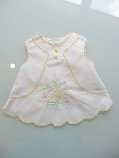 Vintage Baby Dress Size New Born by MemphisNanney on Etsy, $8.50