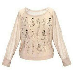 Vintage princess sweater