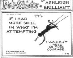 ashleigh brilliant  is brilliant!
