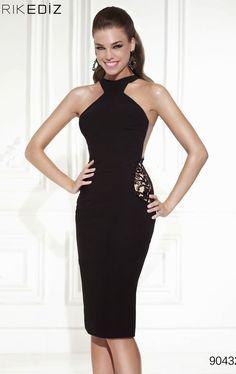 Fantásticos vestidos negros de moda para fiestas