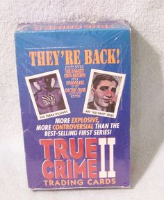 TRUE CRIME II TRADING CARD BOX OF 36 PACKS BY ECLIPSE NEW FACTORY SEALED