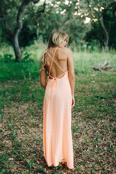 Key West Coral Maxi Dress - 11 Main