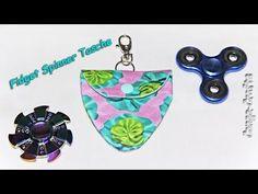Tasche für Fidget Spinner - Schnitt entwerfen und nähen. Design your bag...