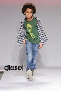 petitePARADE   Kids Fashion Week   DIESEL Runway Looks