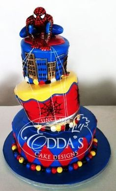 Wilton Spider Man Cupcake Stand Kit