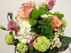 Blumenstrauß mit Hortensie, Rose