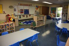 head start classroom layout | More Than ABCs and 123s: Preschool Classroom Set up!