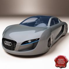 Audi Car D Model D Model DModeling Pinterest Audi A - Audi car 3d
