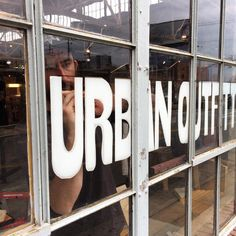 Making some big changes at UONashville... come in and check out our team's hard work  . .  @neonlumberjack  @abineriian . . #urbanoutfitters #uodisplay #nashville #usatuo @urbanoutfitters @uodisplay #windows