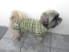 Hand Knit Dog Sweater by majStyle on Etsy, €38.00