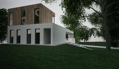 Moderný dom MOR Home Fashion, Garage Doors, Shed, Container, House Design, Outdoor Structures, House Styles, Outdoor Decor, Pictures