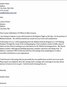26 medical assistant cover letter examples medical assistant cover letter examples medical assistant cover