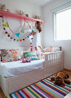 Home Decorators Hamilton Vanity Playroom Layout, Kids Room Design, Room Colors, Interior Paint, Kids Bedroom, Room Inspiration, Toddler Bed, Furniture, Home Decor