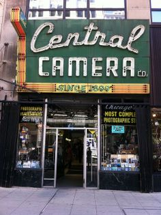 I used to work here during college. Central Camera, Chicago
