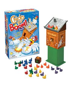 Chicks Go Boom! Game by Patch Products #zulily #zulilyfinds
