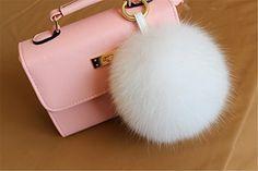 Item Type: Key ChainsFine or Fashion: FashionStyle: TrendyGender: Unisex Pom Pom Bag Charm, Fur Pom Pom, Pom Poms, Car Key Ring, Cute Keychain, New Handbags, Cute Bags, Luxury Bags, Fox Fur