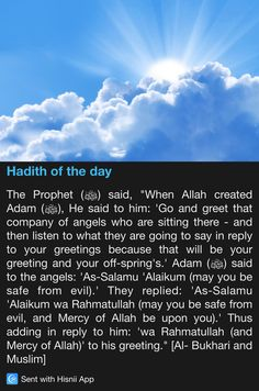 Hadith of the day                                                                                                                                                                                 More Islamic Quotes