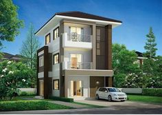 Front Elevation, Sweet Home, Villa, Exterior, House Design, Mansions, Architecture, Nice, House Styles
