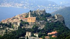 Eze, France. A medieval castle you walk up this hill to see a fantastic view of the Mediterranean.  Narrow stone/cobblestone streets... incredible.
