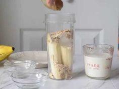 Banana Oatmeal Breakfast Smoothie - The Schmidty Wife