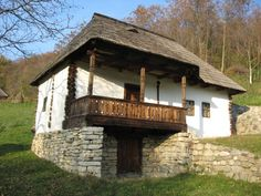 Muzeul Loviştei - Google Search Rural House, Small Cottages, Home Landscaping, Home Fashion, Traditional House, Old Houses, Interior Architecture, Shed, Minimalism