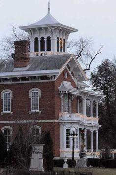 The picturesque Historic District in Galena, IL #ILMileMarker @Amor Montes de Oca @Galena/Jo Daviess County CVB