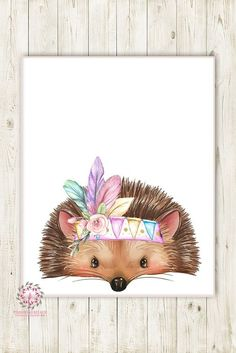 Boho Tribal Feder Igel Wald druckbare Print Wandkunst Kinderzimmer Baby Mädchen… Boho Tribal Feather Hedgehog Forest Printable Print Wall Art Nursery Baby Girl Art Print – Art and cartoons for baby book – Feather Wall Art, Tribal Feather, Pena Tribal, Sala Floral, Pink Forest, Bohemian Flowers, Bohemian Art, Bohemian Painting, Bohemian Nursery