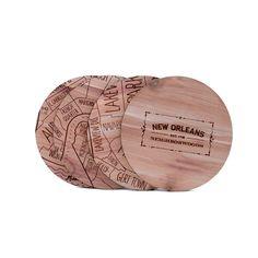 New Orleans Coaster Set on bezar.com