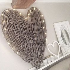 Stunning statement heart