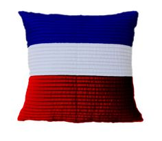 4th of July Pillow - Freedom Pillow - Cotton pillow with pintucks | AmoreBeaute - Housewares on ArtFire