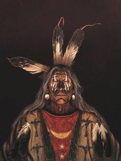 Native American Indian Portraits Paintings by Kirby Sattler (3)