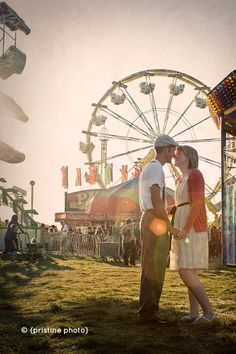 This is from one of my recent engagement sessions. I am LOVING fair pictures lately!