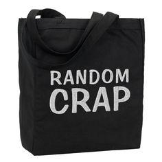 Random Crap Tote Bag