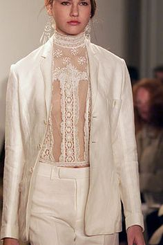 Must have this top made.  Ralph Lauren Spring 2002.