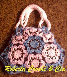 Roberta Crochê e Cia: Flor de Crochê