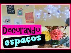 Decorando espaços + DIY - YouTube