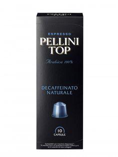Pellini Top Arabica 100% Decaffeinated Capsules