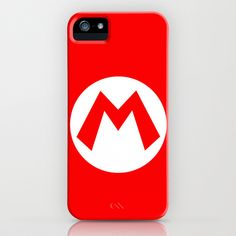 Nintendo Mario iPhone Case by JAGraphic - $35.00