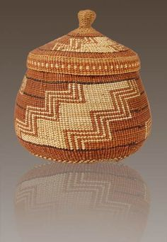 Southwest Indian Baskets | Hupa/Karuk | Ollas or Jars | Polychrome ...