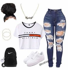 teenager outfits for school cute - teenager outfits - teenager outfits summer - teenager outfits for school - teenager outfits casual - teenager outfits winter - teenager outfits boys - teenager outfits summer crop tops - teenager outfits for school cute Swag Outfits For Girls, Cute Swag Outfits, Teenage Girl Outfits, Cute Comfy Outfits, Teen Fashion Outfits, Dope Outfits, Stylish Outfits, Grunge Outfits, Summer Outfits
