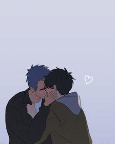 yuyang + lihuan = ♡ comic: here u are Lgbt Anime, Anime Couples Manga, Anime Guys, Manga Anime, Manga Yuri, Cute Love Memes, Fanart, 19 Days, Shounen Ai